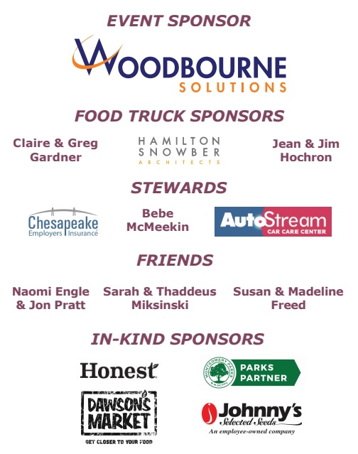 24th Harvest Celebration Sponsors and In-Kind Sponsors
